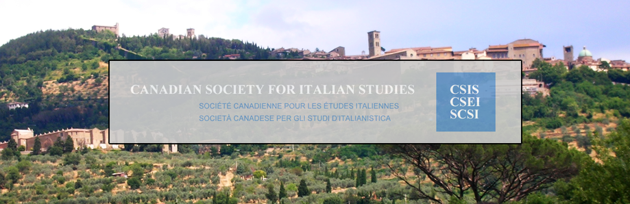 Canadian Society for Italian Studies – Call for papers for the Annual Conference di Ottawa