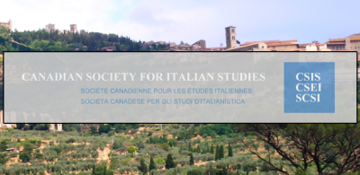 Conference of the Society for Italian Philosophy and of the Canadian Society for Italian Studies