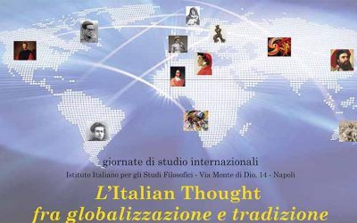 International Study Days: Italian Thought between globalization and tradition