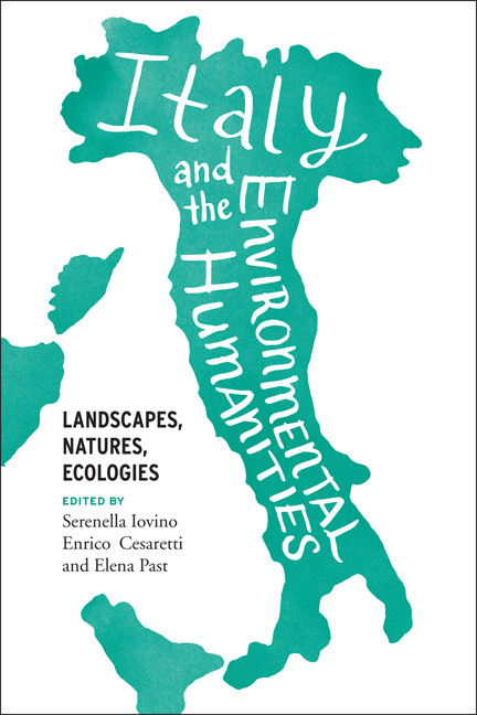 New book out: Italy and the Environmental Humanities