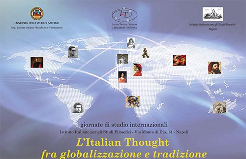 """Italian Thought between globalization and tradition"" videos and pictures"