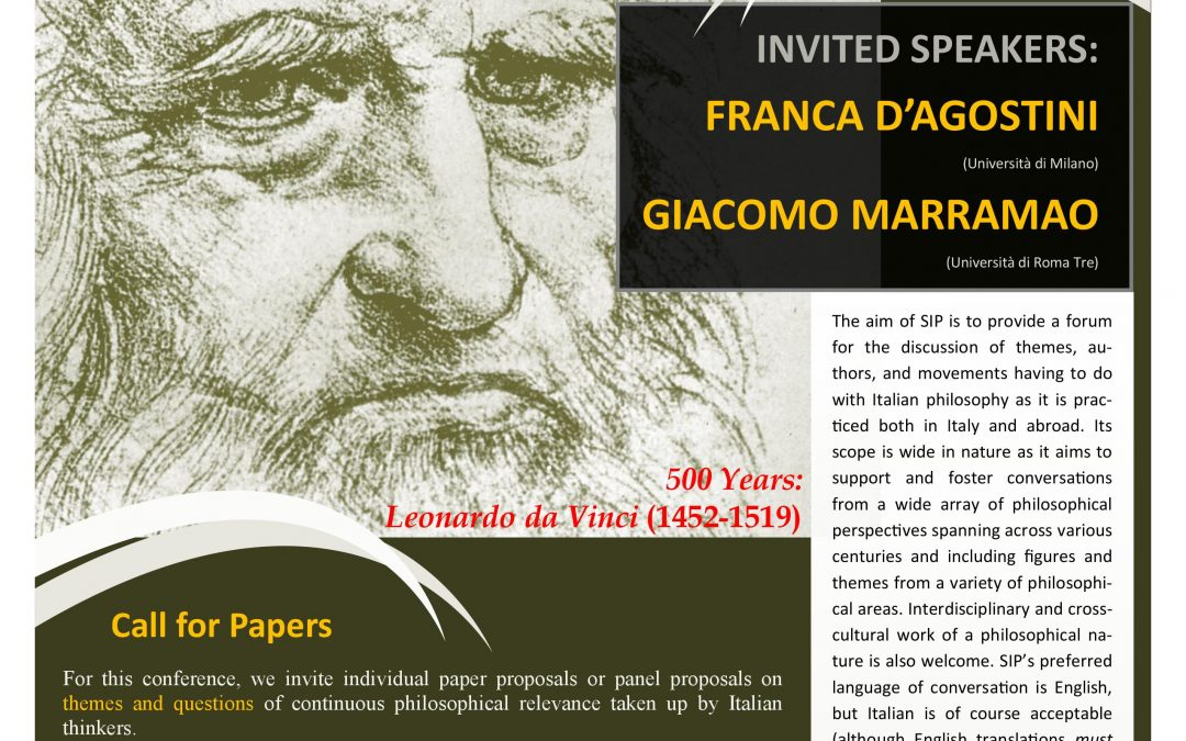 Call for Papers (Reminder)