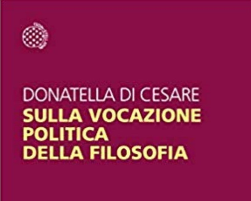 New book by Donatella Di Cesare