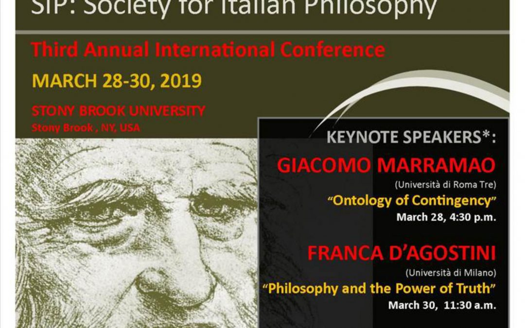 Terza conferenza annuale Society for Italian Philosophy